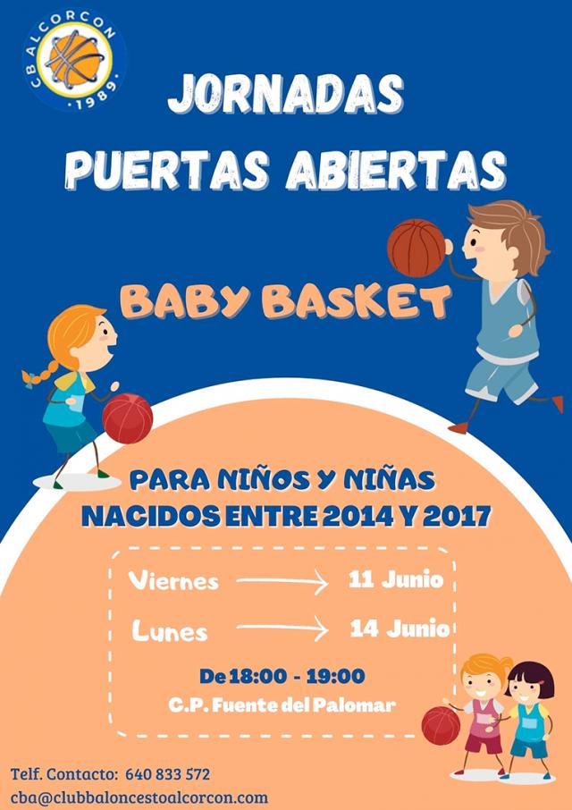 Jornada de Puertas Abiertas – Babybasket